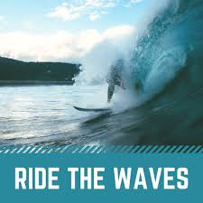 Ride The Waves Logo