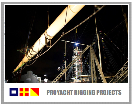 Proyacht Rigging Services  Logo